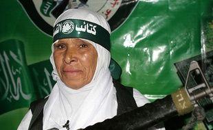 La kamikaze palestinienne Fatma Al-Najar, qui s'est fait exploser près de soldats israéliens à la fin  novembre 2006.