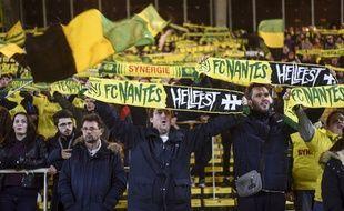 Les supporters de la Brigade Loire ont raté la qualification du FCN à Bayonne.