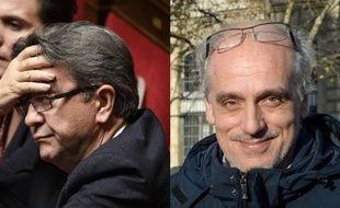 Jean-Luc Mélenchon et Philippe Poutou.