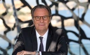 Renaud Muselier au Mucem de Marseille