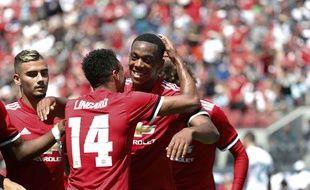 Anthony Martial se bat pour retrouver la confiance de José Mourinho.