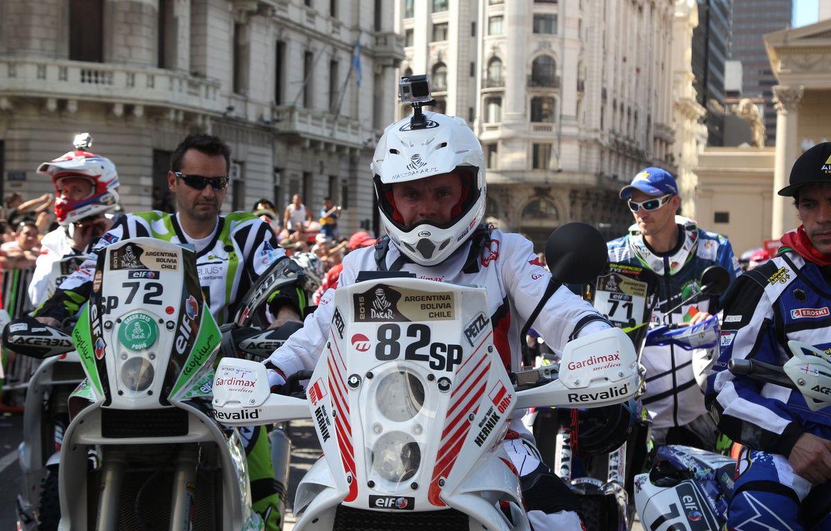 Le motard polonais Michel Hernik est mort sur la route du Dakar, le 6 janvier 2015. – Maindru Photo