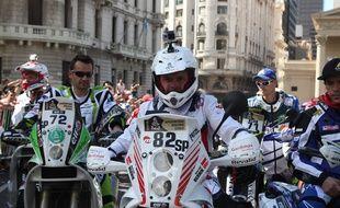 Le motard polonais Michel Hernik est mort sur la route du Dakar, le 6 janvier 2015.
