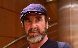 Eric Cantona, en 2017, invité sur le plateau de LCI.