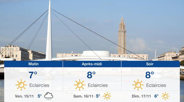 Météo Le Havre: Prévisions du jeudi 14 novembre 2019 - 20minutes.fr