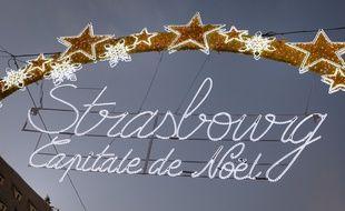 Strasbourg le 01 12 2013. Strasbourg capitale de Noël. Illustrations