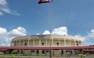 To go with AFP story: Cambodia-UN-trial,FOCUS by Michelle Fitzpatrick Entre la santé chancelante des accusés et les problèmes chroniques de financement, le tribunal de Phnom Penh pour les Khmers rouges est guetté par l'échec, estiment les experts, qui craignent de ne jamais le voir accoucher d'un verdict crédible.