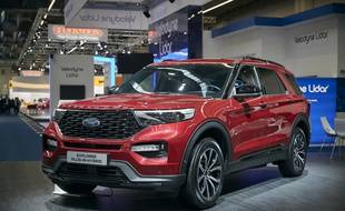 Le SUV Hybrid EXPLORER by Ford