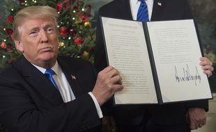 Donald Trump a reconnu Jérusalem comme capitale de l'Etat d'Israël le 6 décembre 2017.