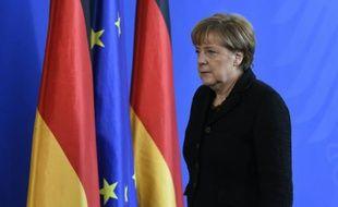 Angela Merkel le 14 novembre 2015 à Berlin