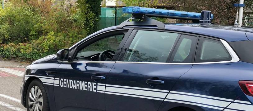 Illustration d'une voiture de la gendarmerie.