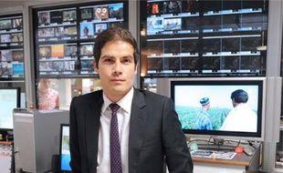 Mathieu Gallet, 34 ans, à la tête de l'INA depuis un an.