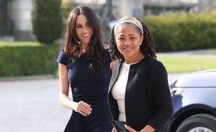 Doria Ragland et sa fille Meghan Markle, duchesse de Sussex à Windsor.