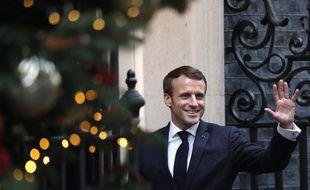 Emmanuel Macron à Londres, le 3 décembre 2019.