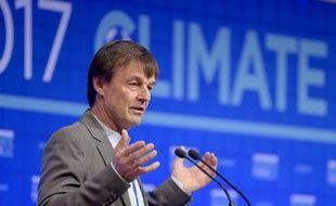 Niocolas Hulot, ministre de la Transition écologique et solidaire, présentera ce vendredi un bilan d'étape du plan climat, voté il y a un an tout juste.