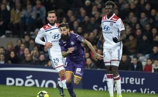 Contre Lyon, le milieu offensif du TFC Jimmy Durmaz a signé un doublé, le 16 janvier 2019 au Stadium de Toulouse.