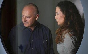 "Yaël Abecassis (à droite), TaliaKlein dans ""Hatufim"""