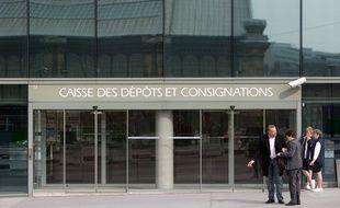 Le siège de la Caisse des Dépôts, le 24 mars 2010 à Paris.