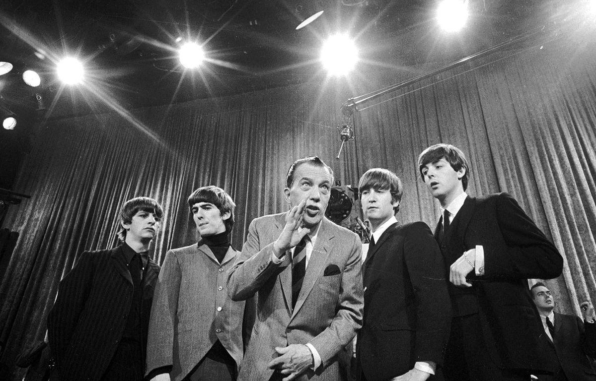 Les Beatles dans le «Ed Sullivan Show» le 8 février 1964. – Anonymous/AP/SIPA