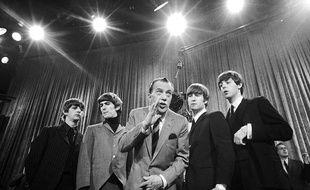 Les Beatles dans le «Ed Sullivan Show» le 8 février 1964.