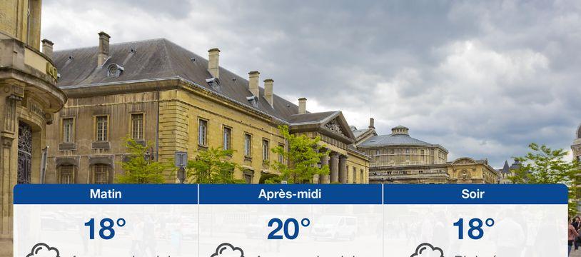 Météo Reims: Prévisions du dimanche 25 juillet 2021