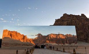 L'auditorium de verre d'Al-Ula, en Arabie Saoudite, accueille le Festival