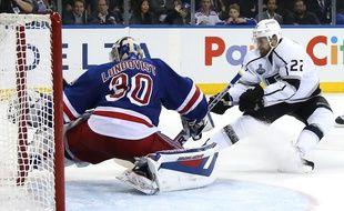 Match N.4 de la finale de NHL entre les Kings et les Rangers, le 11 juin 2014.