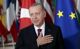 Le président turc, Recep Tayyip Erdogan, à Bruxelles, cette semaine.