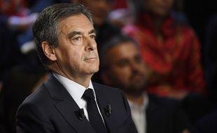 François Fillon lors du débat présidentiel le 4 mars 2017