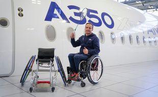 David Toupé travaille en étroite collaboration avec Airbus.