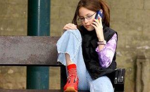 Téléphone portable pour enfant.