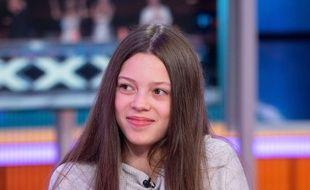La jeune Courtney Hadwin sur le plateau de «Good Morning Britain».