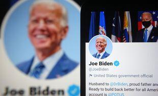 Le compte Twitter de Joe Biden faisait partie des cible du piratage géant de Twitter survenu en juillet 2020.