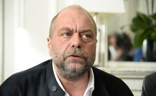 Paris, le 27 octobre 2015. L'avocat Eric Dupond-Moretti.