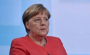 Angela Merkel à la télévision allemande, le 4 juin 2020.