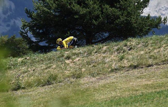 VIDEO. Tour de France 2019: Le retour de maboule d'Alaphilippe dans la descente du Galibier