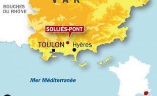 Deux personnes ont trouvé la mort mercredi 10 décembre à Solliès-Pont (Var), à l'entrée Est de Toulon, après avoir été percutées par la motrice d'un TGV.
