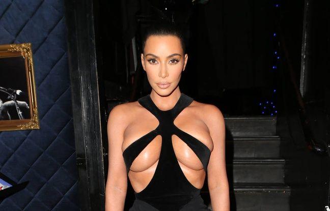 VIDEO. Kim Kardashian est venue à la soirée d'anniversaire de Paris Hilton