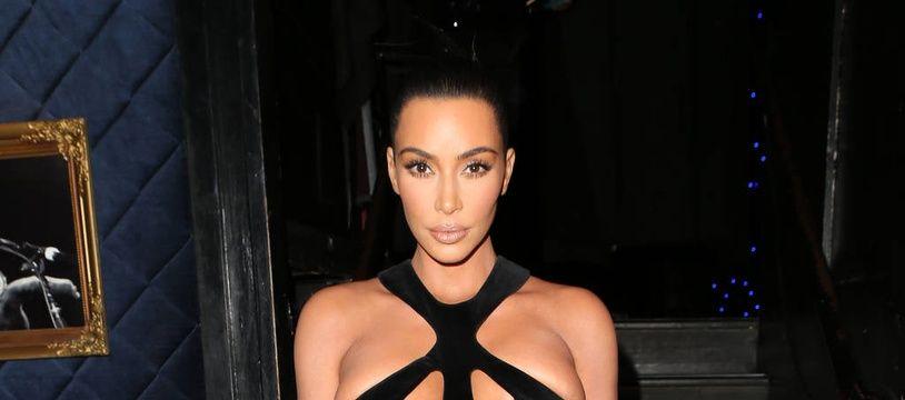 La star de téléréalité Kim Kardashian