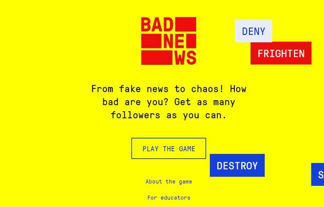 Le jeu Bad News glisse l'internaute dans la peau d'un créateur de fausses informations.