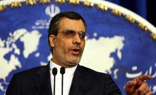 Le porte-parole du ministère iranien des Affaires étrangères, Hossein Jaber Ansari le 14 décembre 2015 à Téhéran