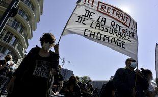 LA réforme de l'assurance chômage qui devait s'appliquer au 1er juillet 2021 avait suscité plusieurs manifestations en France en avril.