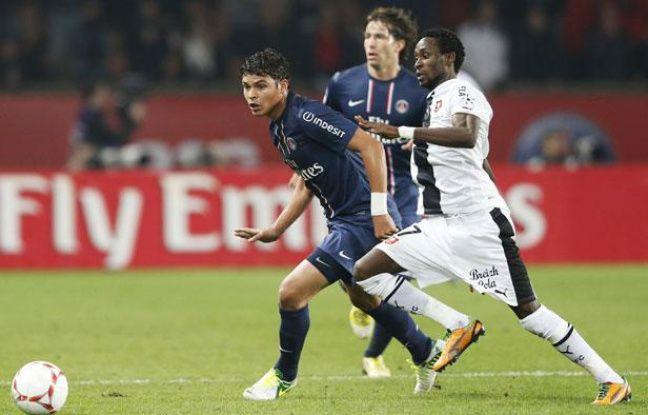 Le Parisien Thiago Silva lors du match contre Rennes le samedi 17 novembre 2012.
