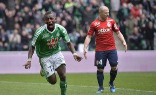Max-Alain Gradel n'a jamais été autant en réussite qu'actuellement depuis son arrivée à Saint-Etienne en 2011.