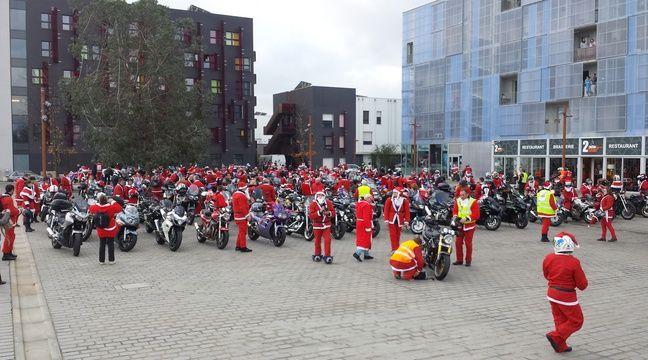 Nantes: Ce week-end, motards et rockeurs jouent les pères Noël - 20minutes.fr