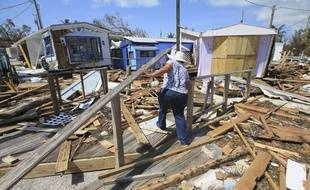 Irma a détruit de nombreuses maisons dans les Keys, en Floride.