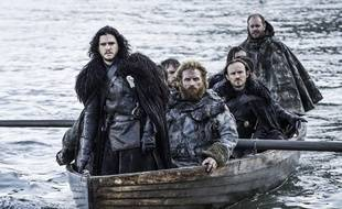 Ben Crompton, Kit Harington, Kristofer Hivju dans la saison 5 de «Game of Thrones».