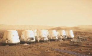 Extrait de la présentation vidéo du projet Mars One.
