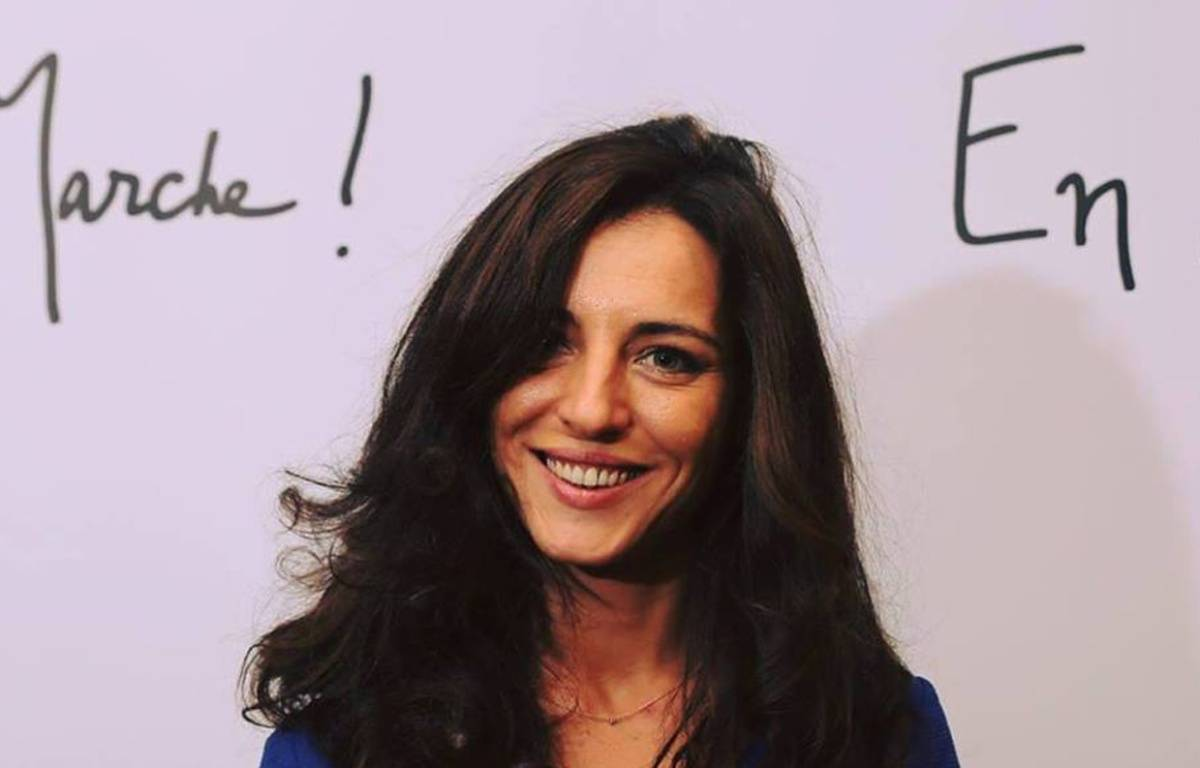 Coralie Dubost, candidate sur la troisième circonscription de l'Hérault – C. D.