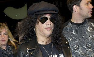 Le guitariste Slash